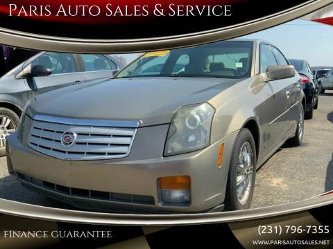 2007 Cadillac CTS for sale at Paris Auto Sales & Service in Big Rapids MI
