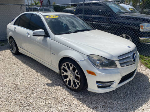 2012 Mercedes-Benz C-Class for sale at Best Auto Deal N Drive in Hollywood FL