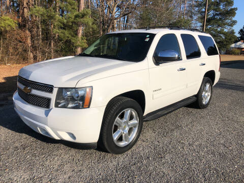 2013 Chevrolet Tahoe for sale at Robert Sutton Motors in Goldsboro NC