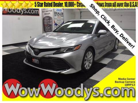 2018 Toyota Camry for sale at WOODY'S AUTOMOTIVE GROUP in Chillicothe MO