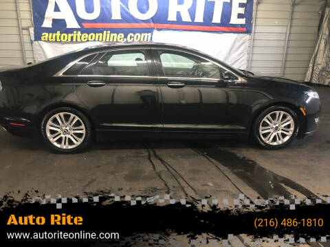 2015 Lincoln MKZ for sale at Auto Rite in Cleveland OH