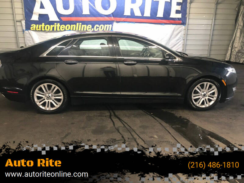 2015 Lincoln MKZ for sale at Auto Rite in Bedford Heights OH