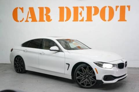 2015 BMW 4 Series for sale at Car Depot in Miramar FL