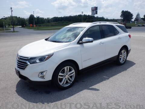 2018 Chevrolet Equinox for sale at London Auto Sales LLC in London KY