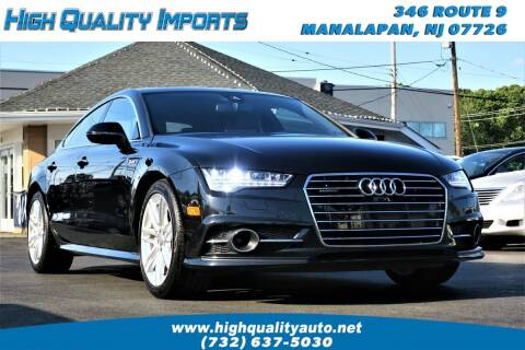2016 Audi A7 for sale at High Quality Imports in Manalapan NJ