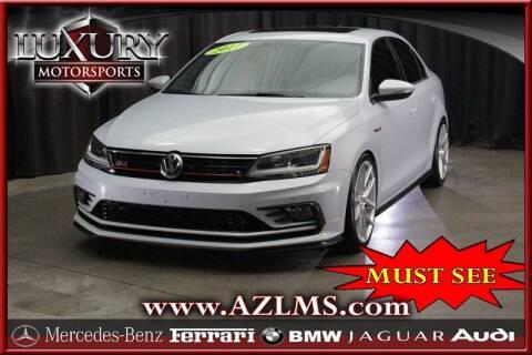 2017 Volkswagen Jetta for sale at Luxury Motorsports in Phoenix AZ