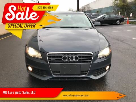 2010 Audi A4 for sale at MD Euro Auto Sales LLC in Hasbrouck Heights NJ