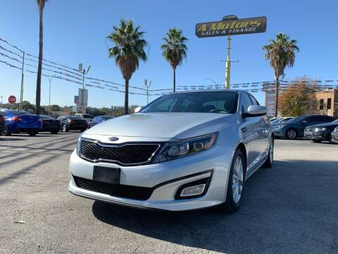 2015 Kia Optima for sale at A MOTORS SALES AND FINANCE - 5630 San Pedro Ave in San Antonio TX