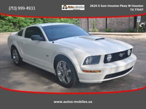 2008 Ford Mustang for sale at AUTOS-MOBILES in Houston TX