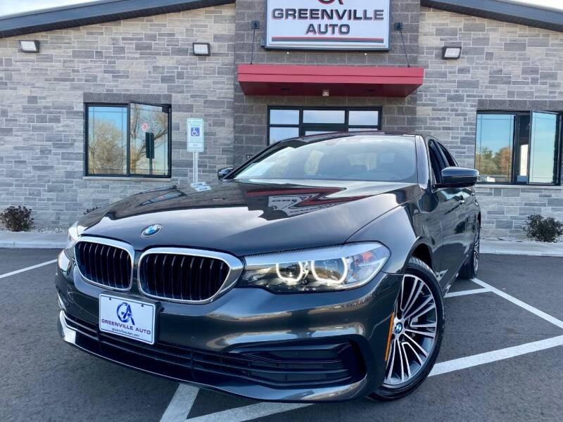 2020 BMW 5 Series for sale at GREENVILLE AUTO & RV in Greenville WI