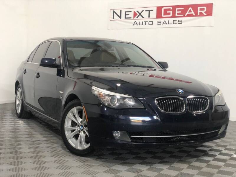 2009 BMW 5 Series for sale at Next Gear Auto Sales in Westfield IN