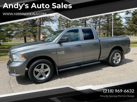 2013 RAM Ram Pickup 1500 for sale at Andy's Auto Sales in Hibbing MN