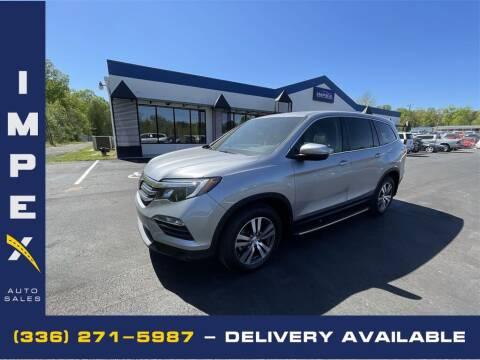 2017 Honda Pilot for sale at Impex Auto Sales in Greensboro NC