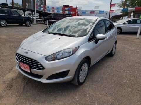 2018 Ford Fiesta for sale at Bickham Used Cars in Alamogordo NM