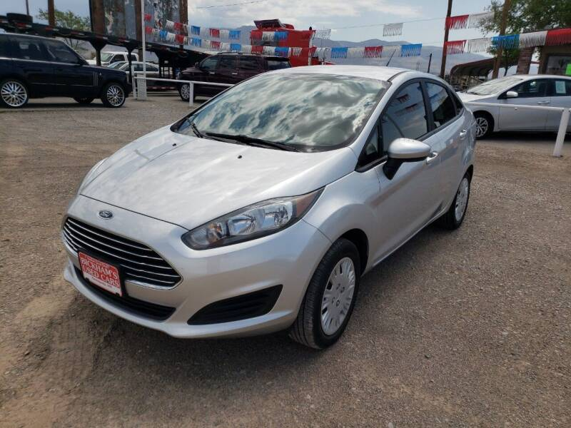2018 Ford Fiesta for sale at Bickham Used Cars in Alamogordo NM