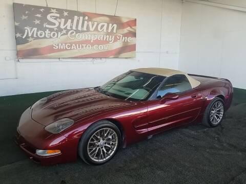 2003 Chevrolet Corvette for sale at SULLIVAN MOTOR COMPANY INC. in Mesa AZ