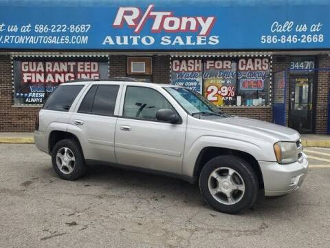 2008 Chevrolet TrailBlazer for sale at R Tony Auto Sales in Clinton Township MI