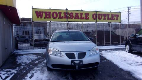 2009 Pontiac G6 for sale at LONG BROTHERS CAR COMPANY in Cleveland OH