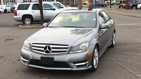 2012 Mercedes-Benz C-Class for sale at Okaidi Auto Sales in Sacramento CA