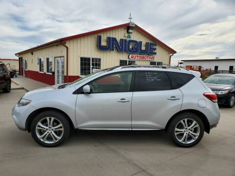 "2014 Nissan Murano for sale at UNIQUE AUTOMOTIVE ""BE UNIQUE"" in Garden City KS"
