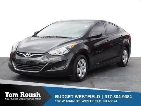 2016 Hyundai Elantra for sale at Tom Roush Budget Westfield in Westfield IN