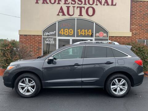 2013 Acura RDX for sale at Professional Auto Sales & Service in Fort Wayne IN