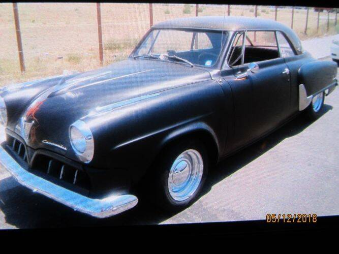 1952 Studebaker Commander for sale at Classic Car Deals in Cadillac MI
