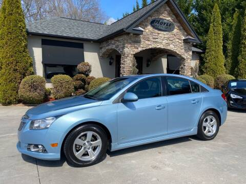 2012 Chevrolet Cruze for sale at Hoyle Auto Sales in Taylorsville NC