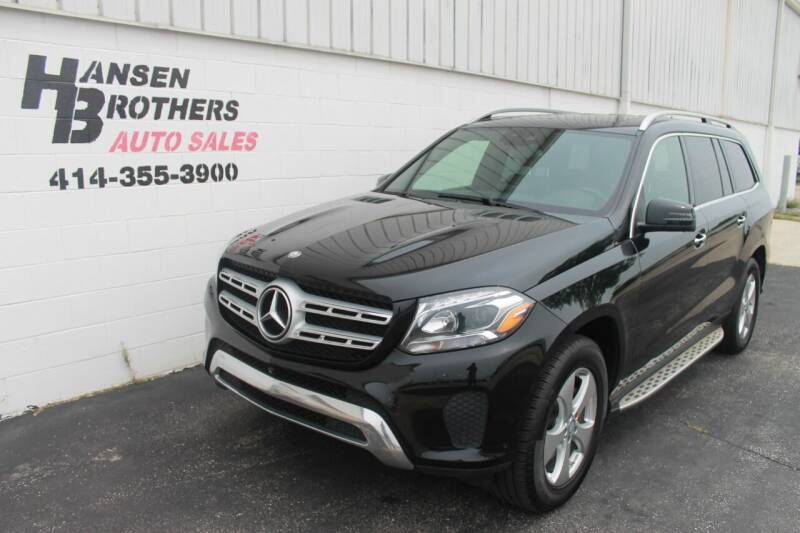 2017 Mercedes-Benz GLS for sale at HANSEN BROTHERS AUTO SALES in Milwaukee WI