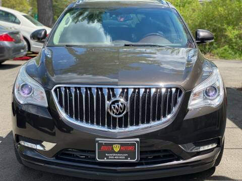 2014 Buick Enclave for sale at Route 123 Motors in Norton MA