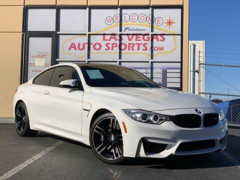 2016 BMW M4 for sale at Las Vegas Auto Sports in Las Vegas NV