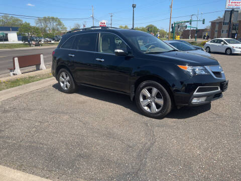 2012 Acura MDX for sale at TOWER AUTO MART in Minneapolis MN