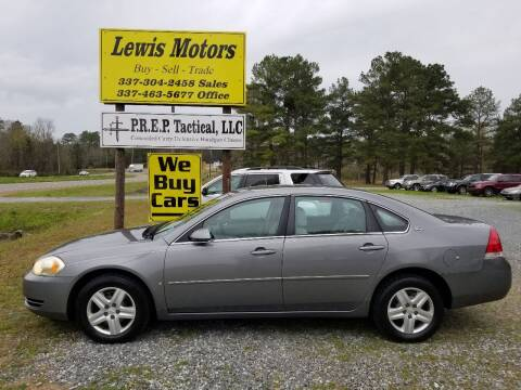 2006 Chevrolet Impala for sale at Lewis Motors LLC in Deridder LA