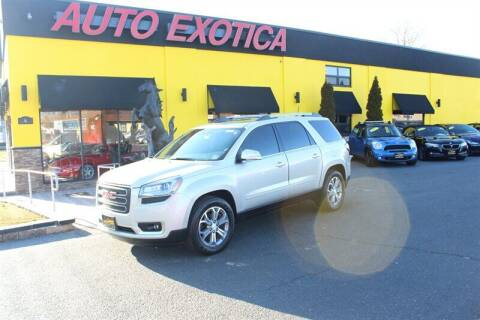 2014 GMC Acadia for sale at Auto Exotica in Red Bank NJ