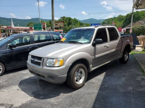 2003 Ford Explorer Sport Trac for sale at Ellis Auto Sales and Service in Middlesboro KY