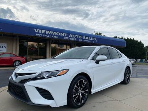 2018 Toyota Camry for sale at Viewmont Auto Sales in Hickory NC