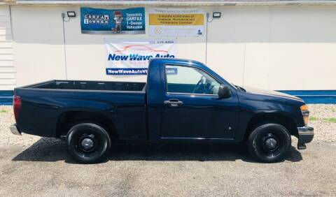 2007 Chevrolet Colorado for sale at New Wave Auto of Vineland in Vineland NJ