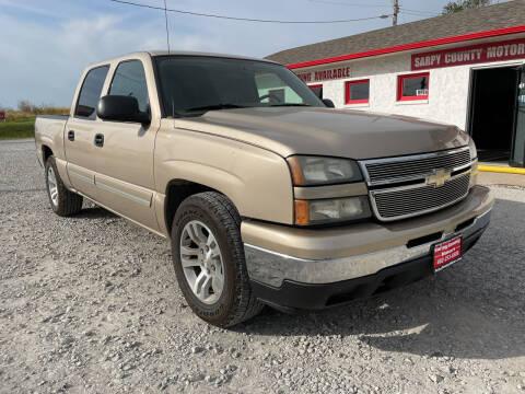 2006 Chevrolet Silverado 1500 for sale at Sarpy County Motors in Springfield NE