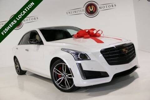 2018 Cadillac CTS for sale at Unlimited Motors in Fishers IN