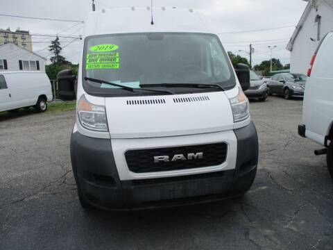 2019 RAM ProMaster Cargo for sale at AUTO FACTORY INC in East Providence RI