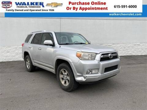 2010 Toyota 4Runner for sale at WALKER CHEVROLET in Franklin TN