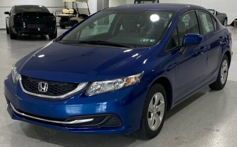2015 Honda Civic for sale at Hamilton Automotive in North Huntingdon PA