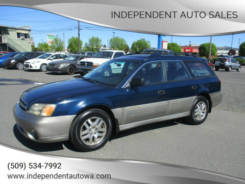 2001 Subaru Outback for sale at Independent Auto Sales in Spokane Valley WA
