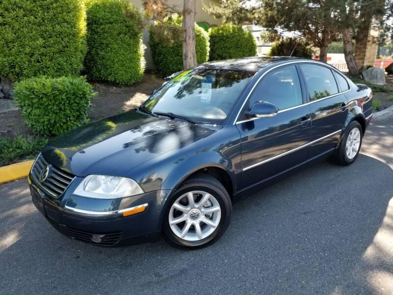 2004 Volkswagen Passat for sale at SS MOTORS LLC in Edmonds WA