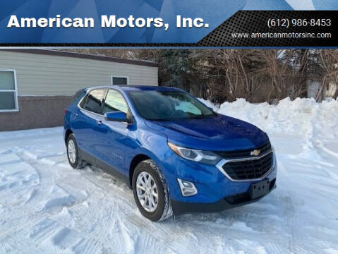 2019 Chevrolet Equinox for sale at American Motors, Inc. in Farmington MN