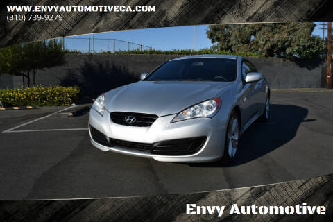 2010 Hyundai Genesis Coupe for sale at Envy Automotive in Studio City CA