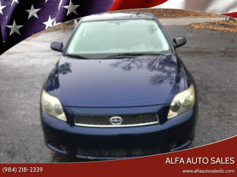 2007 Scion tC for sale at Alfa Auto Sales in Raleigh NC