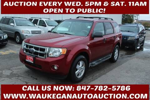 2010 Ford Escape for sale at Waukegan Auto Auction in Waukegan IL