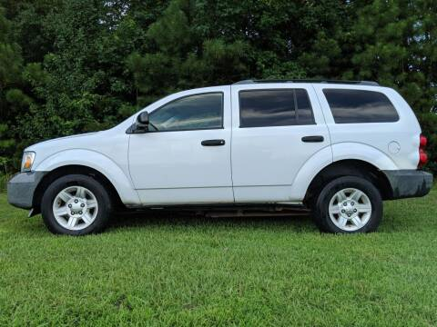 2008 Dodge Durango for sale at Harris Motors Inc in Saluda VA