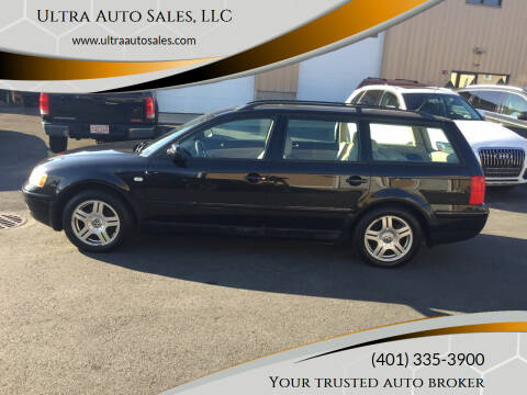 2001 Volkswagen Passat for sale at Ultra Auto Sales, LLC in Cumberland RI